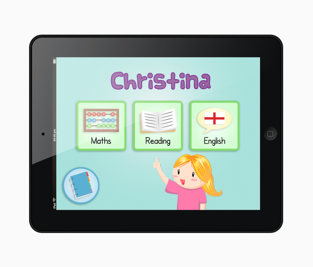 Christina Button App Screen